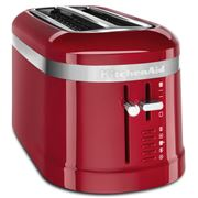 KitchenAid - Design Four Slice Long Toaster KMT5115 Emp. Red