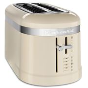 KitchenAid - Design Four Slice Long Toaster KMT5115 A/Cream