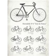 La Brocante - Hirondelle Cycles Greeting Card