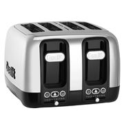 Dualit - Domus Four Slice Toaster DU46620 Black