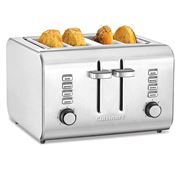 Cuisinart - Stainless Steel 4 Slice Toaster CPT-10A
