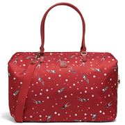 Lipault - Izak Zenou Weekend Bag M Pose/Garnet Red