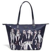 Lipault - Izak Zenou Tote Bag Medium Pose/Night Blue