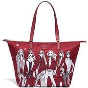 Lipault - Izak Zenou Tote Bag Medium Pose/Garnet Red