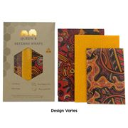 Queen B - Assorted Beeswax Wrap Set Dreamtime 3pce