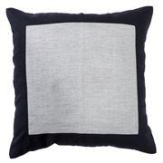 Paloma - Milano Border Linen Cushion 50x50cm