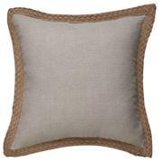 Paloma - Jute Linen Cushion Sand 50x50cm