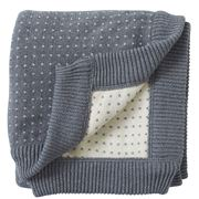 Paloma - Milange Throw Grey 80x100cm