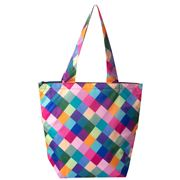 Sachi - Insulated Market Tote Bag Harlequin