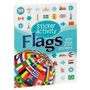 Book - Flags Sticker Activity Book