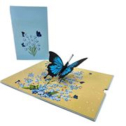 Colorpop - Butterfly Greeting Card Blue
