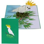Colorpop - Cockatoo Bird Greeting Card