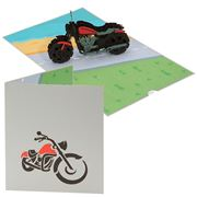 Colorpop - Harley Davidson Greeting Card