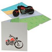Colorpop - Harley Davidson Greeting Card Large