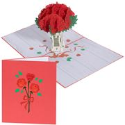Colorpop - Rose Bouquet Greeting Card