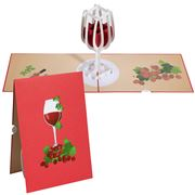 Colorpop - Wine Glass Greeting Card