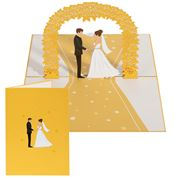 Colorpop - Gold Wedding Day Greeting Card