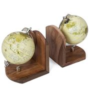 Searles - Global Book Ends Set 2pce