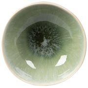Vilamoura - Verde Reactive Round Bowl 11x4.5cm