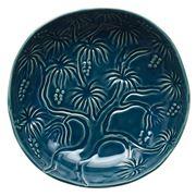 Vilamoura - Round Flared Bowl Goa Blu 21cm