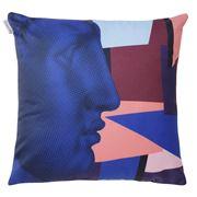 Sophia - Hermes Profile Triangles Cushion 43x43cm