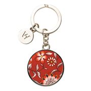 Wedgwood - Wonderlust Crimson Jewel Keyring