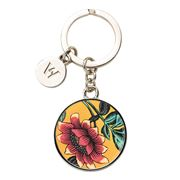Wedgwood - Wonderlust Yellow Tonquin Keyring