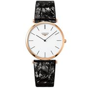 Longines - La Grande Classique Wht Dial Rose Gold Watch 36mm