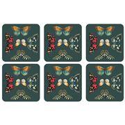 Pimpernel - Botanic Garden Harmony Coaster Set 6pce