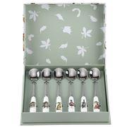 Royal Worcester - Wrendale Designs Teaspoon Set 15cm 6pce
