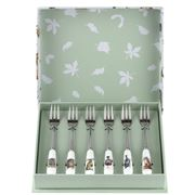 Royal Worcester - Wrendale Designs Pastry Fork Set 15cm 6pce