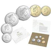 RA Mint - Effigies Over Time Coin Set 6pce