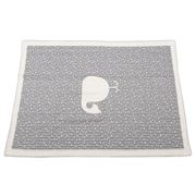 David Fussenegger - Grey Whale Cot Blanket