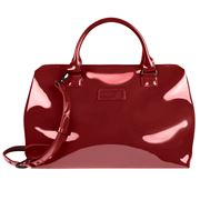 Lipault - Plume Vinyl Bowling Bag Ruby Medium