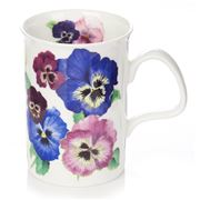 Roy Kirkham - Pansies Lancaster Mug Blue