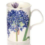 Roy Kirkham - Agapanthus Lancaster Mug Blue