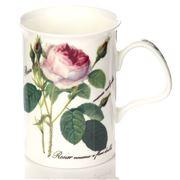Roy Kirkham - Redoute Rose Lancaster Mug White