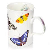 Roy Kirkham - Blue Butterfly Garden Lancaster Mug