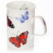 Roy Kirkham - Red Butterfly Garden Lancaster Mug