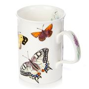 Roy Kirkham - White Butterfly Garden Lancaster Mug