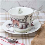 Roy Kirkham - Dogs Galore Breakfast Cup & Saucer
