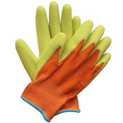 Briers - Kids Junior Digger Gloves Yellow 5-9 Years