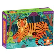 Mudpuppy - Mini Puzzle Bengal Tiger 48pce
