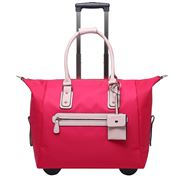 Serenade Leather - Moscow Trolley Case Red