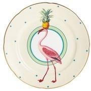 Yvonne Ellen - Cake Plate Flamingo