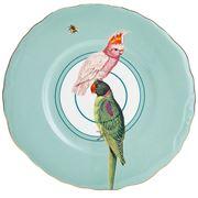 Yvonne Ellen - Plate Parrots 24cm