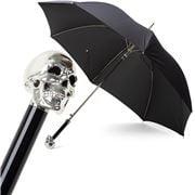 Pasotti - Umbrella Skull Silver Black
