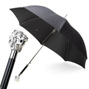 Pasotti - Umbrella Lion Silver Black