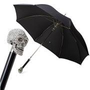 Pasotti - Umbrella Swarovski Skull Black