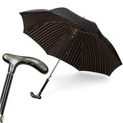 Pasotti - Umbrella Paisley Buffalo Horn Handle Black